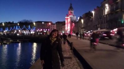 Yujin Kim in France