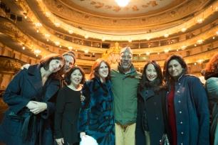 Amy Schoening, Robert Rosenwasser, Betty Louie, Claudia Beck, Alonzo King, Anne Koo, Nandita Bakshi, photo by Franck Thibault