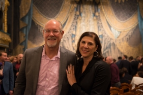 Harry and Amy Schoening, photo by Franck Thibault