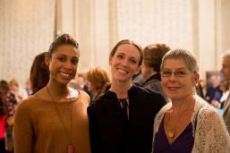 Adji Cissoko, Madeline DeVries, Fredeke Goodyear, photo by Franck Thibault