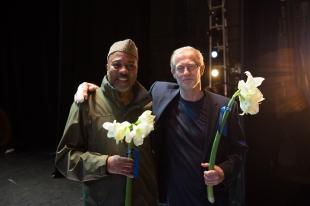 Alonzo and Mats Ek, photo by Franck Thibault