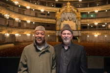 Alonzo King and Robert Rosenwasser, photo by Franck Thibault