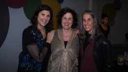 Amy Schoening, her sister and Rae Richman