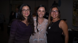 Our fearless Development Department: Maria Caprio, Sarah Riddle and Priscilla Lopez