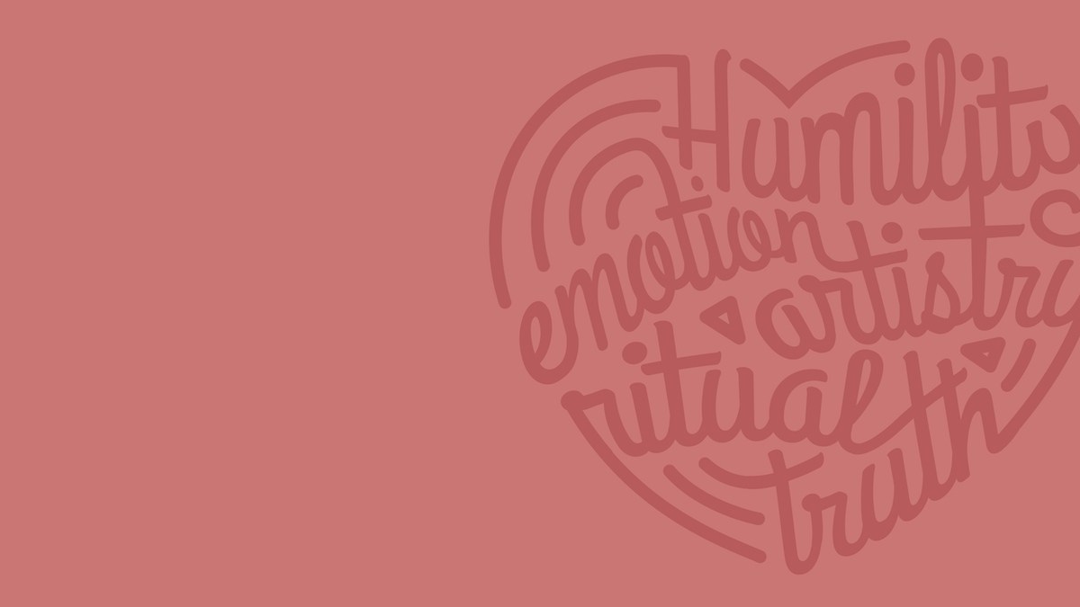 HeART with LINES: Humility, Emotion, Artistry, Truth.